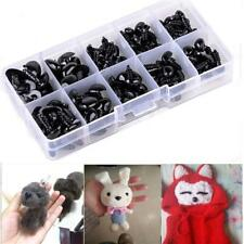 142pcs Mix Plastic Safety Eyes & Washers For Doll Animal Stuffed Toys NEW Y2