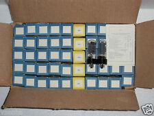 6P3S  PLATINUM MATCHED QUAD REFLECTOR TUBES NOS NIB / 6L6GT 5881