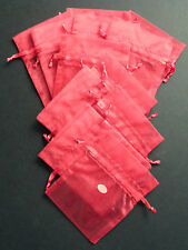 Pack of 12 'Red' Wedding Favour Bags