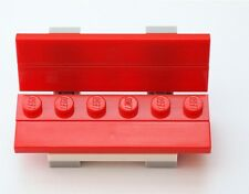 LEGO Red Park Bench for Minifigs NEW Friends Girls
