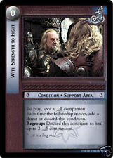 LOTR TCG  7R261 With Strength To Fight
