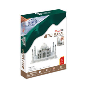 World's Great Architecture Taj Mahal 87 Piece 3D Model DIY Hobby Fun Build Kit