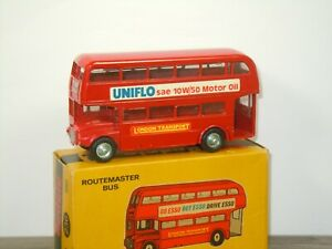London Routemaster Bus - Budgie Toys 236 England in Box *43420