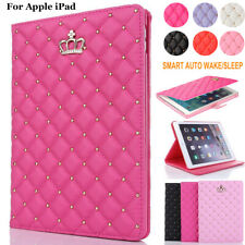 """For iPad 6th 9.7 inch 2018 10.2"""" 7th Air 2/3/4 Folio Case Leather Cover Stand"""