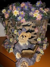 Boyd's Bears Retired Clementine Garden Romance Candle #27757