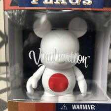 """Disney Vinylmation 3"""" - FLAGS SERIES - JAPAN TOKYO - Sealed New - Mickey Mouse -"""