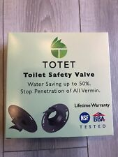 "TOTET WSV03 TOILET SAFETY VALVE FITS 3 & 4"" PIP (SAVE UP TO 50% WATER,)"