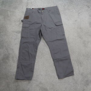 Wrangler Riggs Workwear Ranger Relaxed RipStop 42x32 Charcoal Work Pants NWT