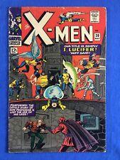 X-MEN #20 LOW GRADE SILVER AGE MARVEL COMIC ORIGIN OF PROFESSOR X