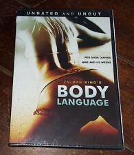 Zalman King's Body Language (DVD, 2008) Free Shipping!