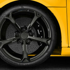Set Of 4 Front And Rear Black Mgp Caliper Covers For 2014 Toyota Corolla S