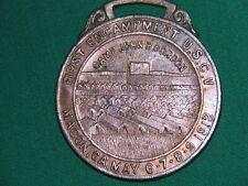 CONFEDERATE UCV MACON, GA REUNION MEDAL 1912, POST CIVIL WAR