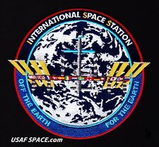 """NEW ORIGINAL ISS INTERNATIONAL SPACE  STATION-TIM GAGNON-COMMEMORATIVE- 5""""-PATCH"""
