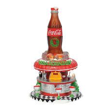 Department 56 Coca Cola Soda Fountain Figurines
