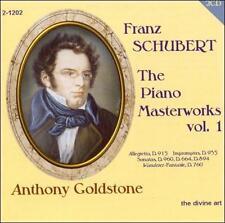 Schubert: The Piano Masterworks, Vol. 1, New Music