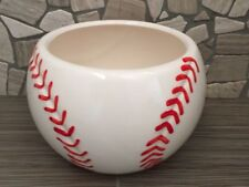 Ceramic Baseball Planter / Candy Dish
