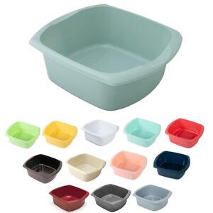 Addis 9.5L Plastic Washing Up Bowl Large Rectangular Kitchen Basin Sink Bowl