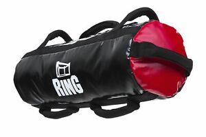 Ring SANDBAG, Sandsack, Crossfit, Outdoor,  Fitness, bis 30 Kg, Farbe -Rot