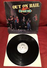 Legs Diamond Out On Bail LP Vinyl Record 1984 TE 1343