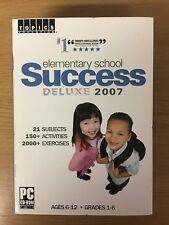elementary school Success Deluxe 2007 - Ages 6-12 - Grades 1-6 - New