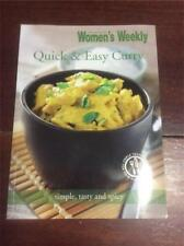 AUSTRALIAN WOMENS WEEKLY COOKBOOK  RECIPES COOKERY QUICK & EASY CURRY CURRIES
