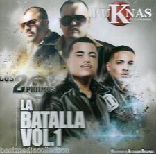 Buknas De Culiacan & Los 2 Primos CD NEW La Batalla Vol 1 Corridos 2013 SEALED