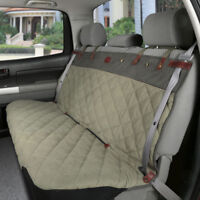 Solvit Premium Bench Seat Cover Green Tan 47 x 56 inches Quilted Waterproof