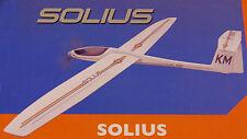 """Multiplex Elektro-Segler """"Solius"""" - 2160 mm """"Eleganz am Himmel"""" (RR verfügbar)"""