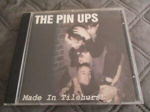 """CD """"THE PIN UPS - MADE IN TILEHURST"""" 8 MORCEAUX / 2000"""