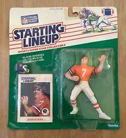 VINTAGE 1988 NFL STARTING LINE UP SLU JOHN ELWAY ROOKIE DENVER BRONCOS - SEALED
