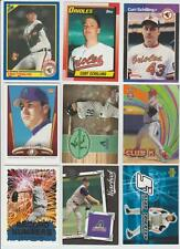 Curt Schilling 1989 ROOKIE LOT (10) & JERSEY CARD & TOPPS CHROME REFRACTOR