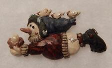Boyds Bears Magnet (Made From Pin) Snowman With Birds