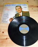 Bing Crosby - Songs I Wish I Had Sung Vinyl LP 1970