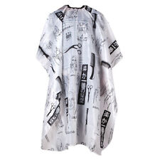 Hair Salon Cape Haircut Barber Gown Hairdressing Apron Supplies Black+White BF