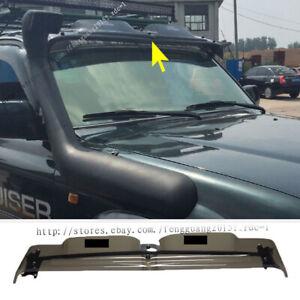 for Toyota Land cruiser LC80 FJ80  translucent PVC front spoiler Sun visor 90-97