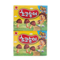 Korean Snack ORION CHOCO SONG YI 36g x 2Pack Crispy Delicious Chocolate Snack