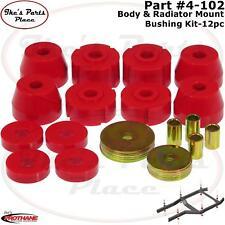 Prothane 4-102 Body & Radiator Mount Bushing Kit for 72-85 Dodge D & W Trucks