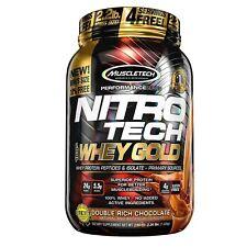 Nitrotech Whey Gold, 100% Whey Protein Powder, Whey Isolate Y Whey