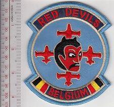 Aerobatic Belgium Royal Air Force RBAF Red Devils Display Team Belgique Armee bl