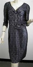 MARC by MARC JACOBS Black Lace Bow Detail Dress Sz 8 $428