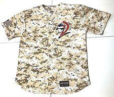 Chicago/DAYTONA CUBS, Florida Camo Baseball game Jersey shirt Mens XL # 5 signed