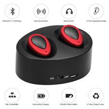 Mini True Wireless Bluetooth Twins Stereo In-ear Headset Earphone Earbuds B
