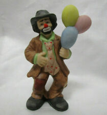 Emmett Kelly Jr. Collection Sad Clown Figurine Selling Balloons 3.75in