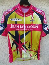 Maillot cycliste JEAN DELATOUR 2001 NALINI shirt trikot Laurent BROCHARD 3 M