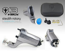 STEALTH GEN 3.0 Aluminum Rotary Tattoo Machine Liner Shader Supply Ink (GREY)