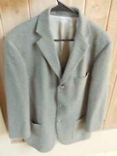 HUGO BOSS Venus Wool Gray Green Sport Coat Blazer Sz 44R