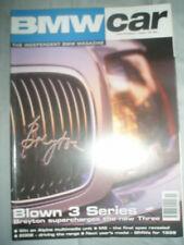 BMW Car Nov 1998 Breyton 3 Series, new M5, 2002