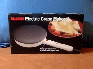 MAXIM Electric Crepe Maker – Model CM-5