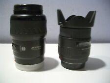 Set of MINOLTA AF ZOOM Xi 100-300mm 1:4.5 & SIGMA UC ZOOM 28-105MM
