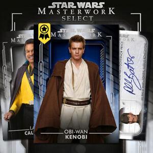 Topps Star Wars Card Trader Masterwork AWARD CARD SELECT - Digital Sale
